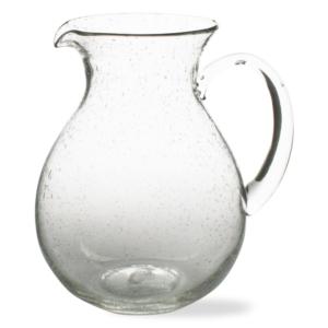 BUBBLE GLASS PITCHER