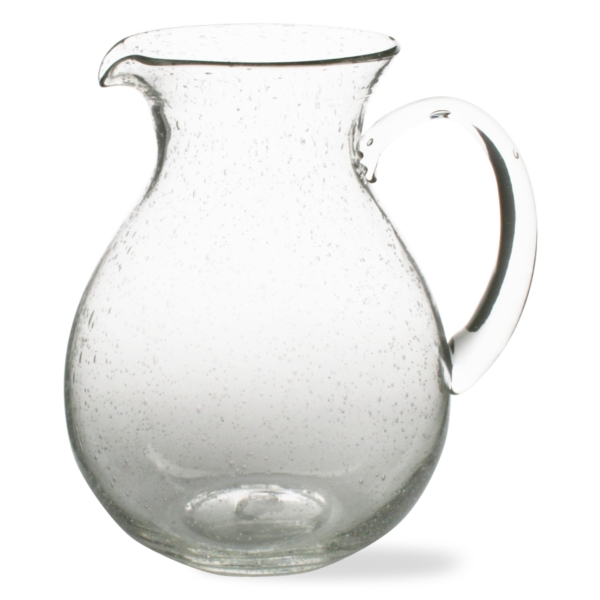 BUBBLE GLASS PITCHER
