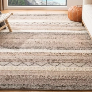 AREA RUG WOOL AND COTTON